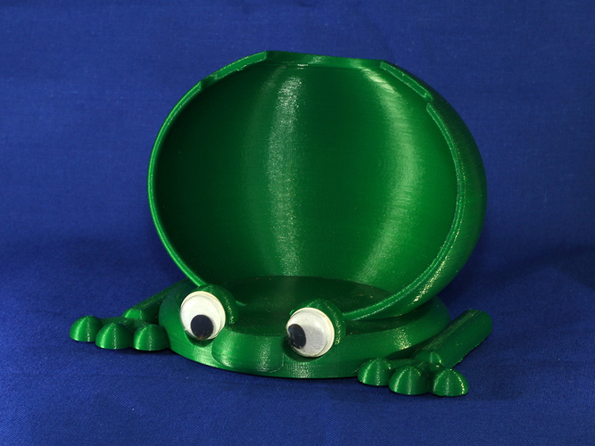 Frog phone holder-amplifier 3D Print 7832