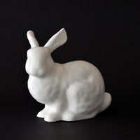 Small Easter Bunny and Candy Bar 3D Printing 7836