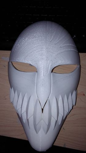 Bleach Mask 3D Print 7859