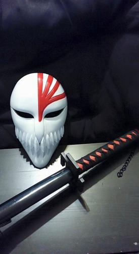 Bleach Mask 3D Print 7863