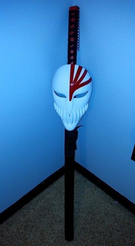 Bleach Mask 3D Print 7864