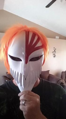 Bleach Mask 3D Print 7865