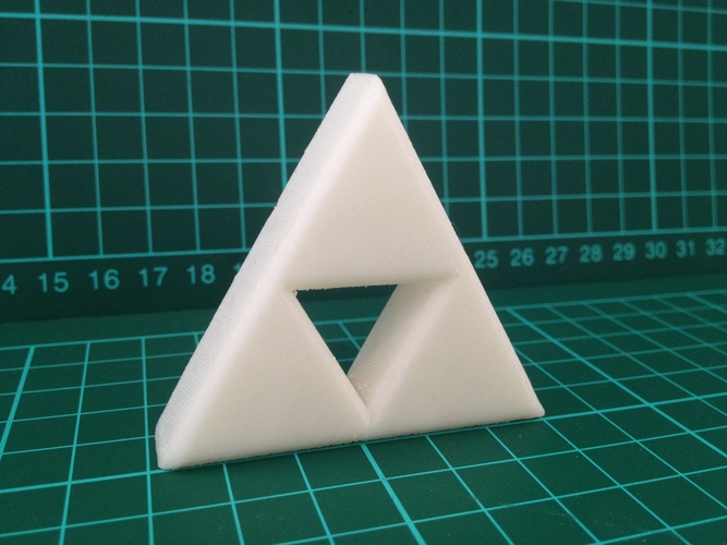 Zelda Triforce 3D Print 7932