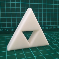 Small Zelda Triforce 3D Printing 7932