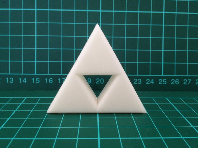 Zelda Triforce 3D Print 7933