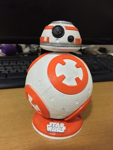 BB8 DROID - STAR WARS: THE FORCE AWAKENS 3D Print 7958