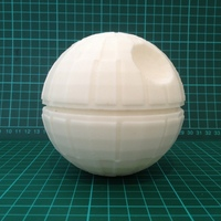 Small Death Star Christmas Tree Topper - Star Wars 3D Printing 7975