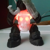 Small SkullBot 001 - via 3DKToys 3D Printing 7998
