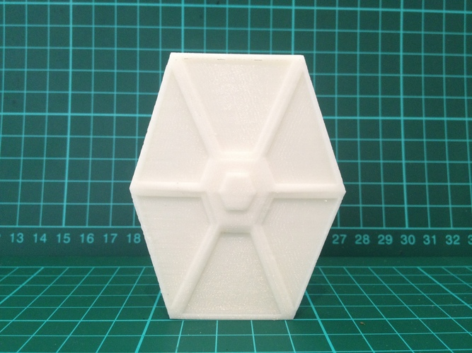 Low Poly Tie Fighter - Star Wars 3D Print 8026