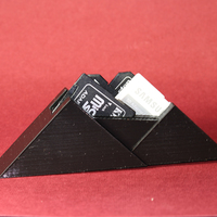 Small SD Card Mountain 3D Printing 8030