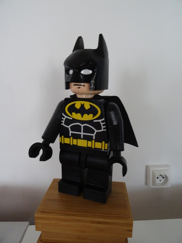 Giant Lego Batman 3D Print 8036