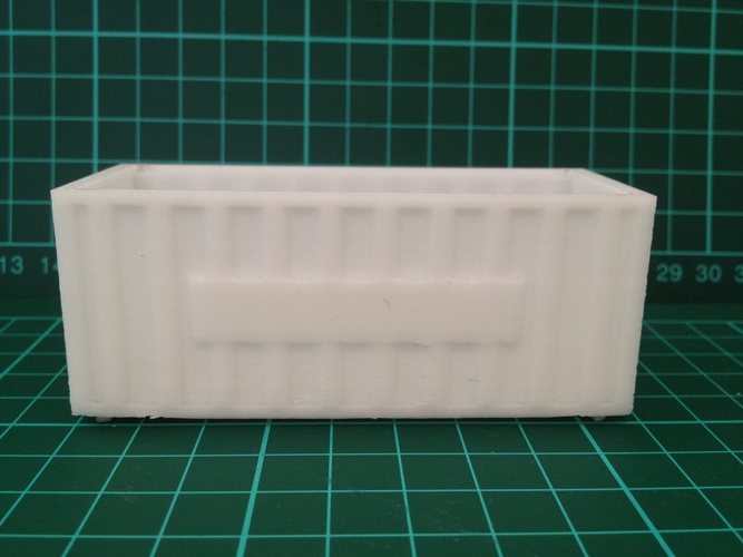 Shipping Containers - Modular Storage 3D Print 8040