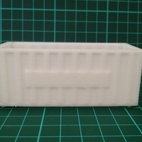 Small Shipping Containers - Modular Storage 3D Printing 8040