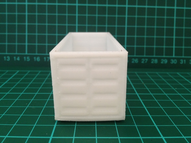 Shipping Containers - Modular Storage 3D Print 8041