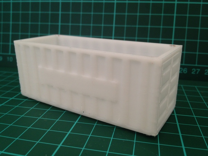 Shipping Containers - Modular Storage 3D Print 8042