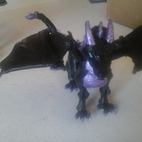 "Small ""Braq""  jointed dragon 3D Printing 8144"