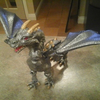 "Small ""Braq""  jointed dragon 3D Printing 8156"