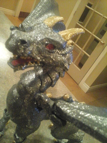 """Braq""  jointed dragon 3D Print 8159"