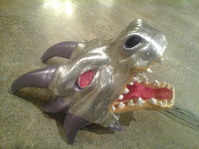Articulated dragon mouth 3D Print 8160
