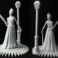 Small Steampunk Lady : jisabelle 3D Printing 817