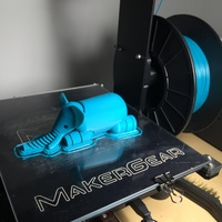 Small Elephant 3D Printing 8181