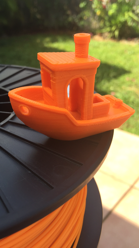 #3DBenchy - The jolly 3D printing torture-test 3D Print 8184