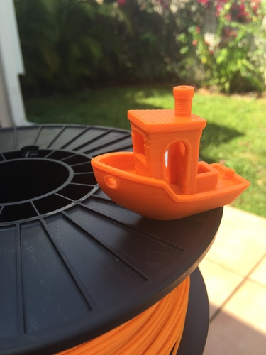 #3DBenchy - The jolly 3D printing torture-test 3D Print 8185