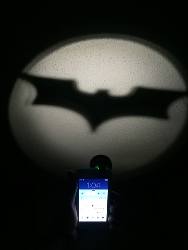 Clip-On Pocket Bat-Signal! 3D Print 8242