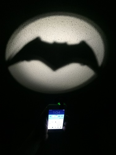 Clip-On Pocket Bat-Signal! 3D Print 8243
