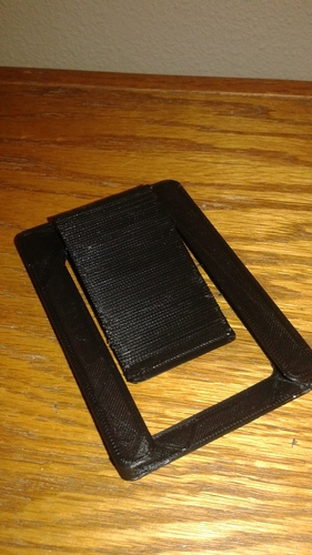 Wallet with money clip 3D Print 8281