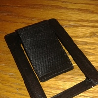 Small Wallet with money clip 3D Printing 8281
