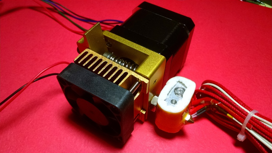Da Vinci 1 3D Printer Extruder Carriage for MK8  3D Print 8298