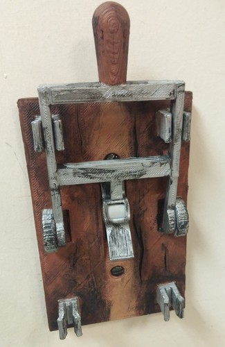 Reprint of Frankenstein Light Switch Plate from LoboCNC 3D Print 8377