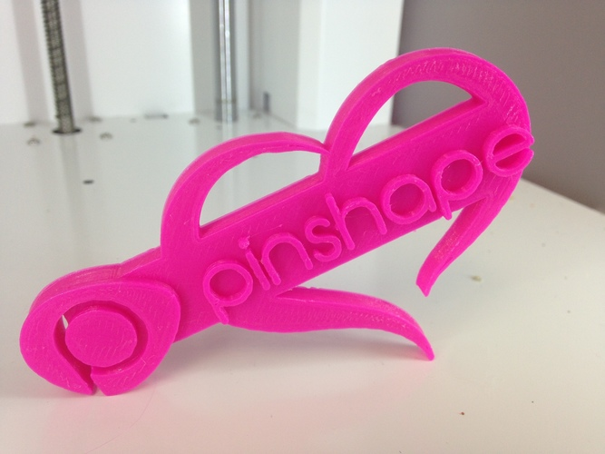 Pinshape loves you! 3D Print 8393