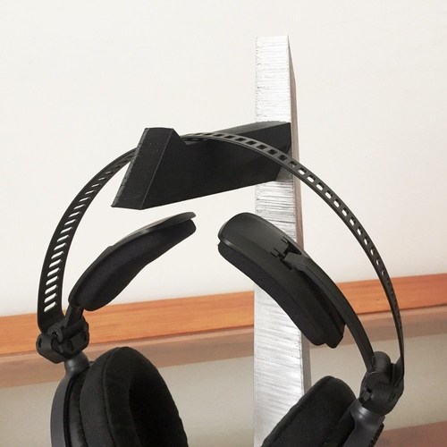 Tantō Headphone Stand 3D Print 8473