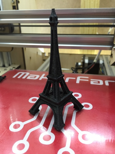 The Eiffel Tower Miniature 3D Print 8534