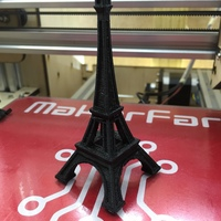 Small The Eiffel Tower Miniature 3D Printing 8534