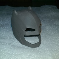 Small Batman vs Superman- Helmet 3D Printing 8596