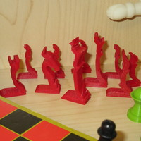Small Chess Set - Profiles - Mk1 3D Printing 8602