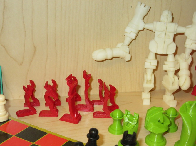 Chess Set - Profiles - Mk1 3D Print 8605