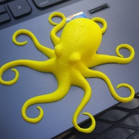 Small 3D Printed Octopuses for quality test [ size=50mm ] (1) 3D Printing 8609