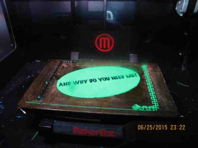 The most important Question 3D Print 862