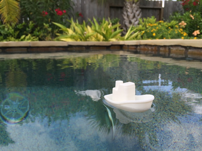 Toy Boat 3D Print 8622