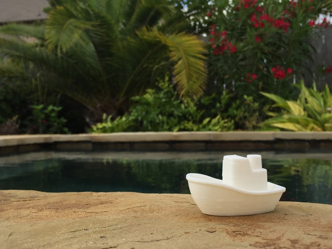 Toy Boat 3D Print 8623