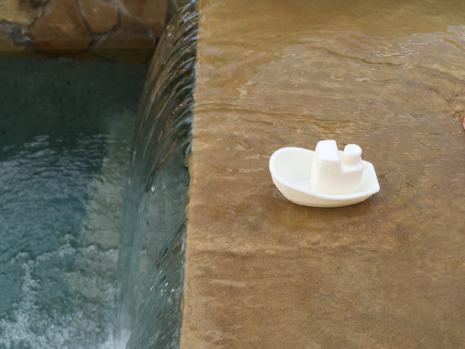 Toy Boat 3D Print 8624
