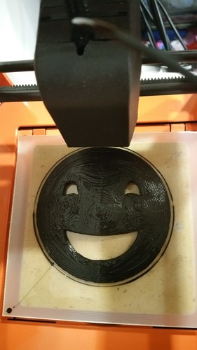 Happy Face! 3D Print 8643