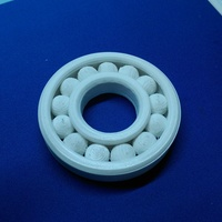 Small Fully Assembled Ball Bearing 3D Printing 8676