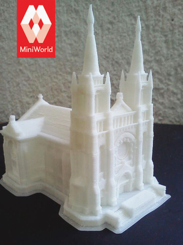 Sioux Falls Cathedral, South Dakota 3D Print 877
