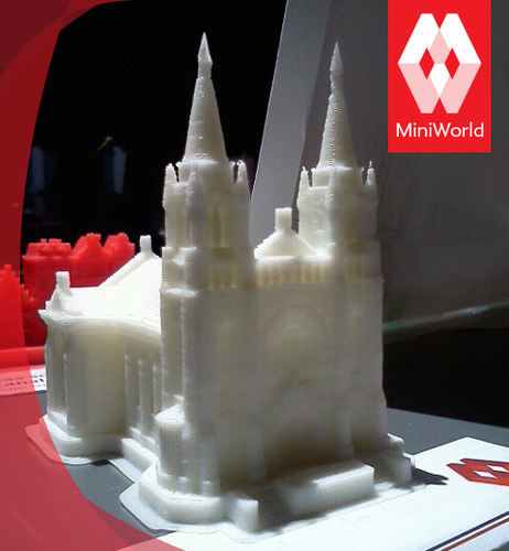 Sioux Falls Cathedral, South Dakota 3D Print 878