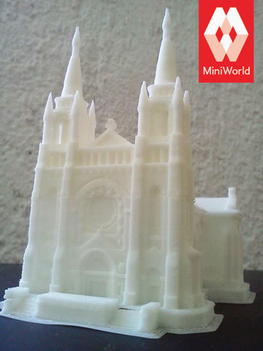 Sioux Falls Cathedral, South Dakota 3D Print 879